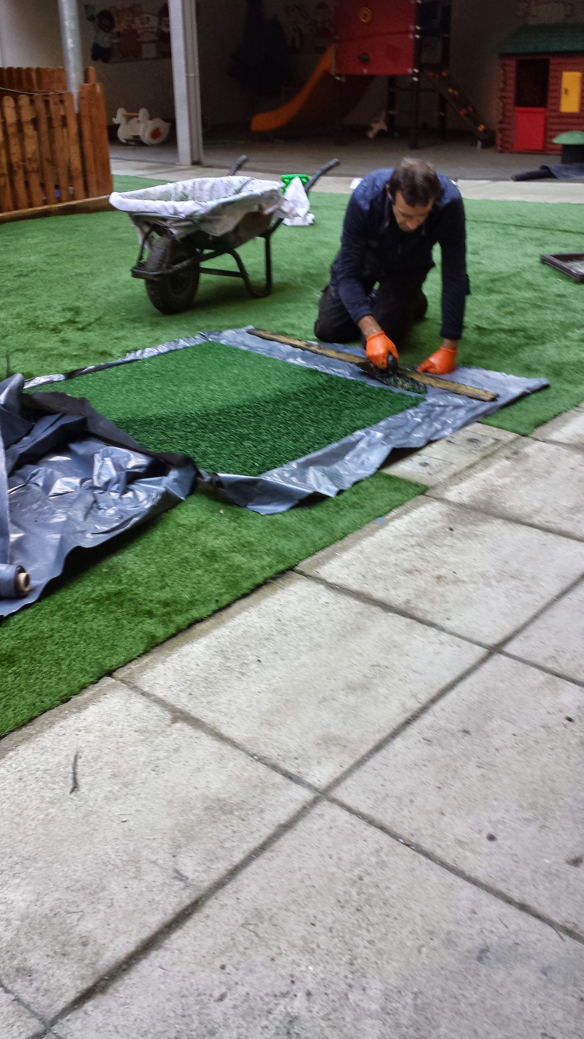 Soft surface application in Green