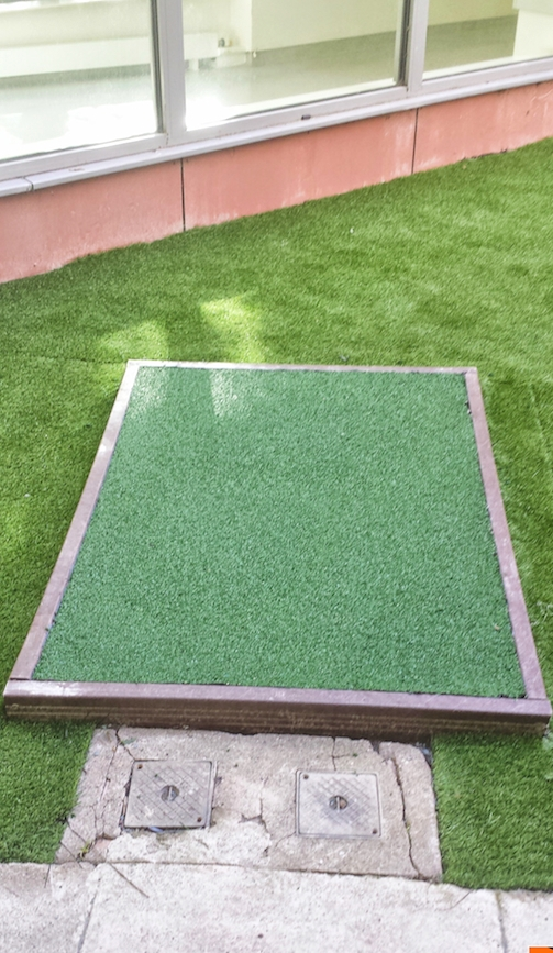 softsurface protection for playground