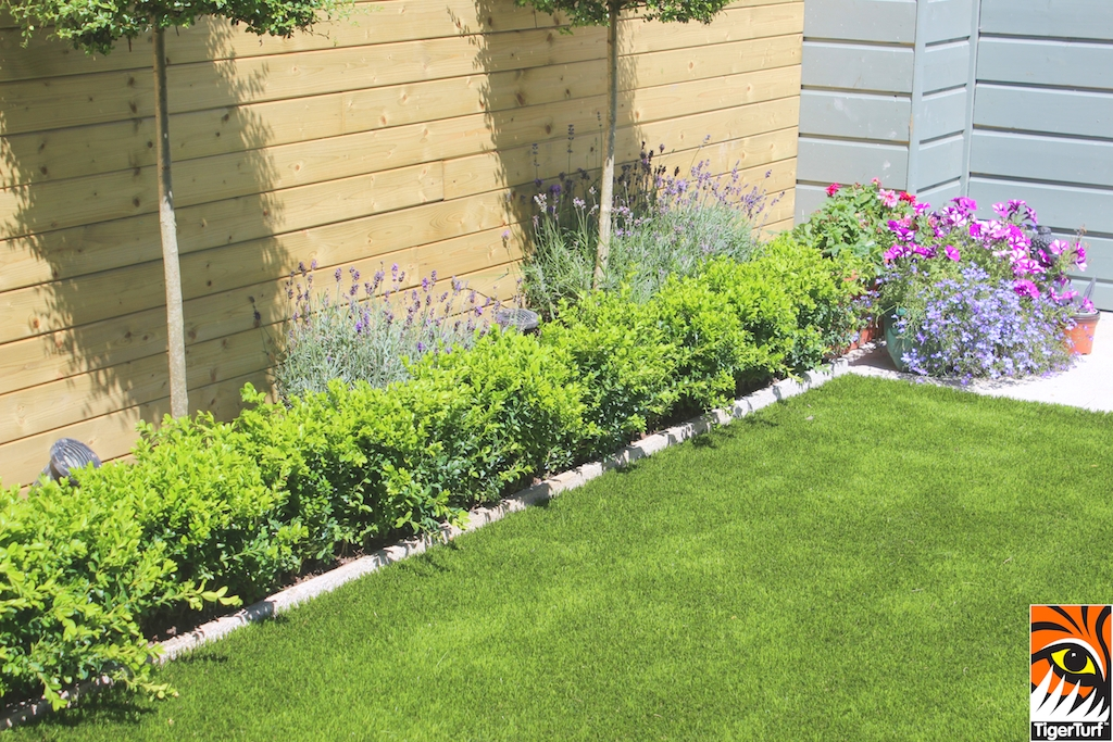 Formal Planting and Artificial Lawn