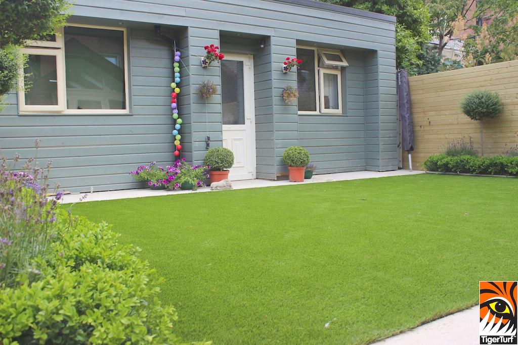 Tigerturf lawn and studio