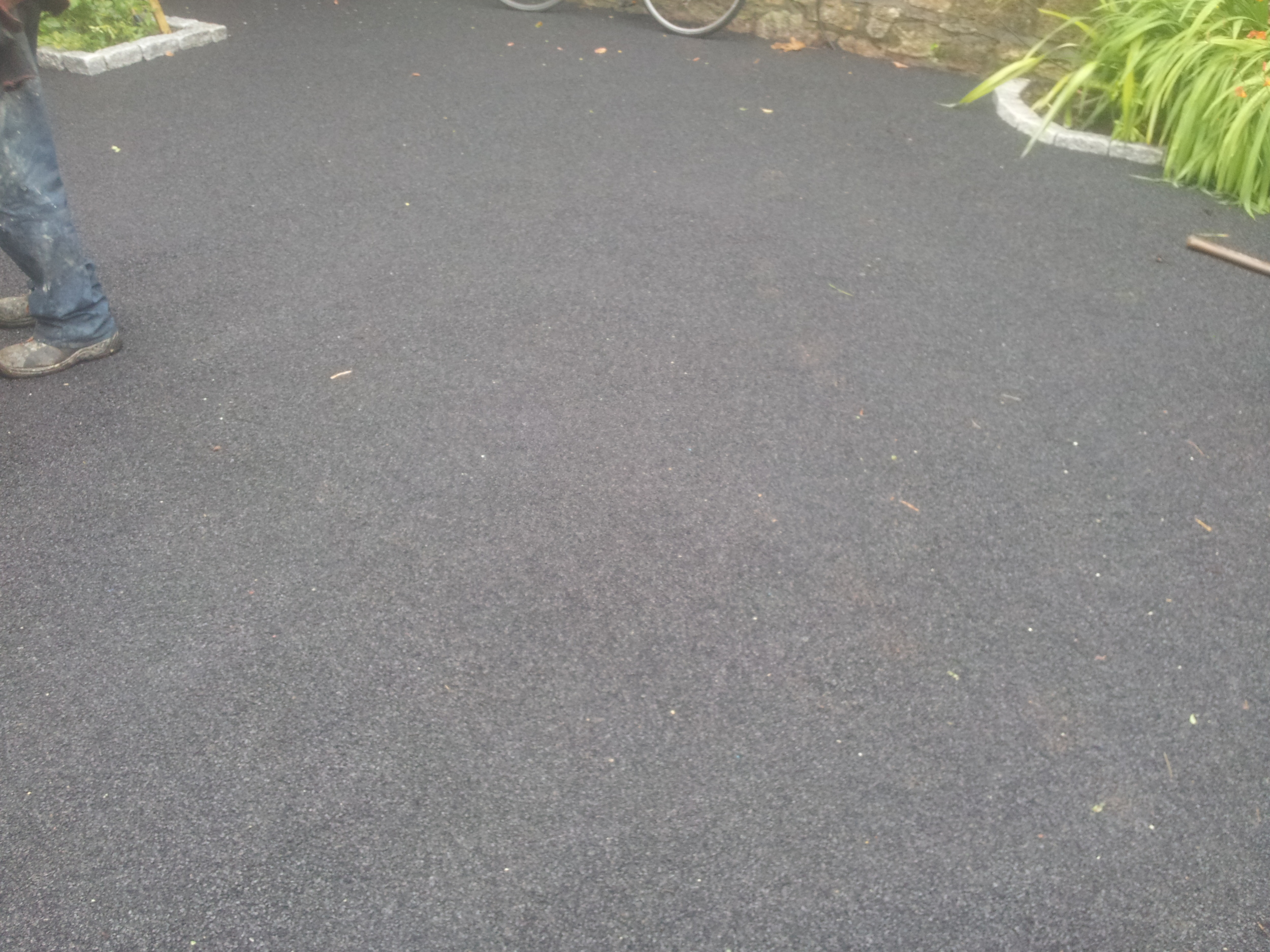 Crumb rubber safety layer