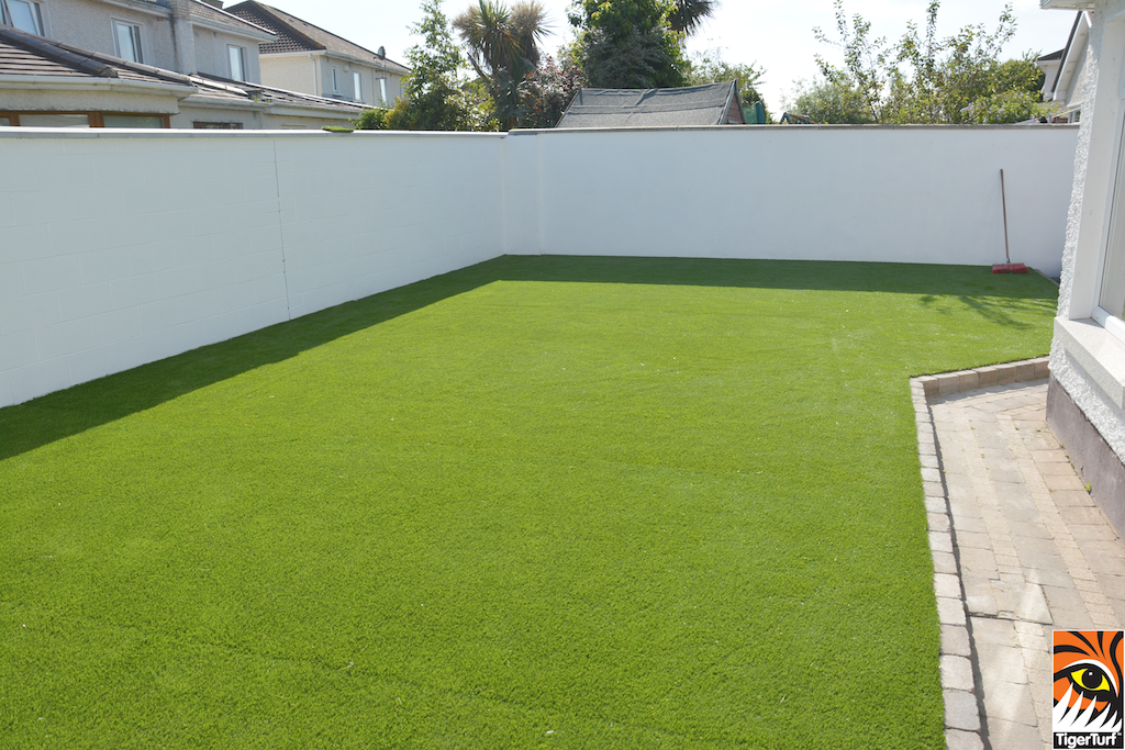 TigerTurf Finesse Deluxe installed in Garden