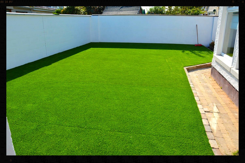 Click through Image for grass installation