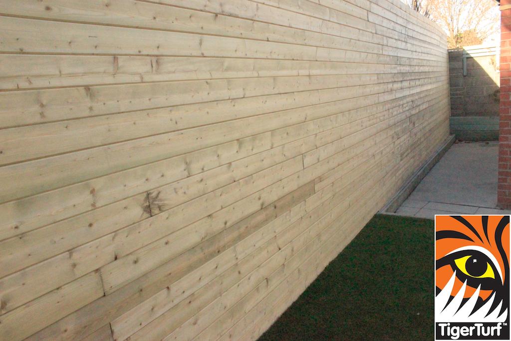 TGandV boards at back of Garden