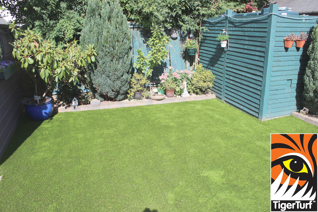 Garden upgraded