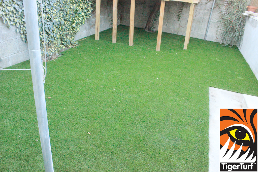 grass synthetic installation