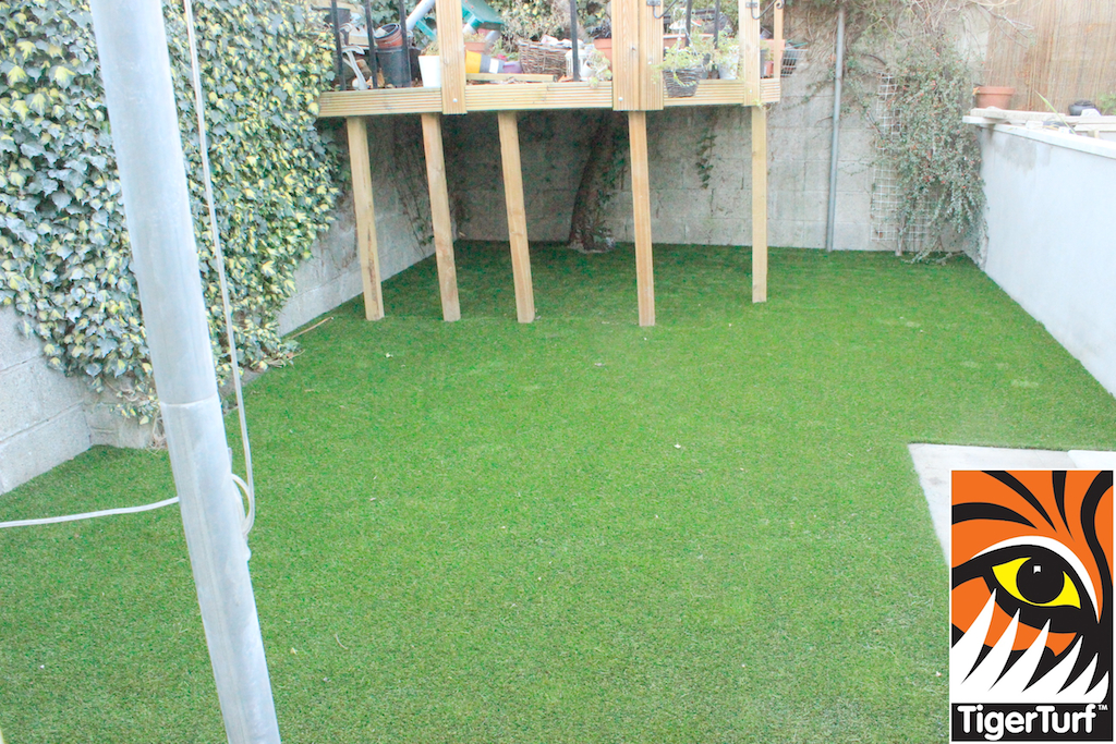 nice new synthetic lawn