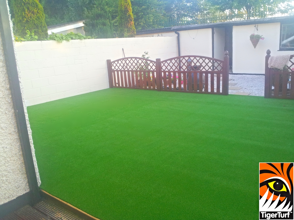 grass on decking