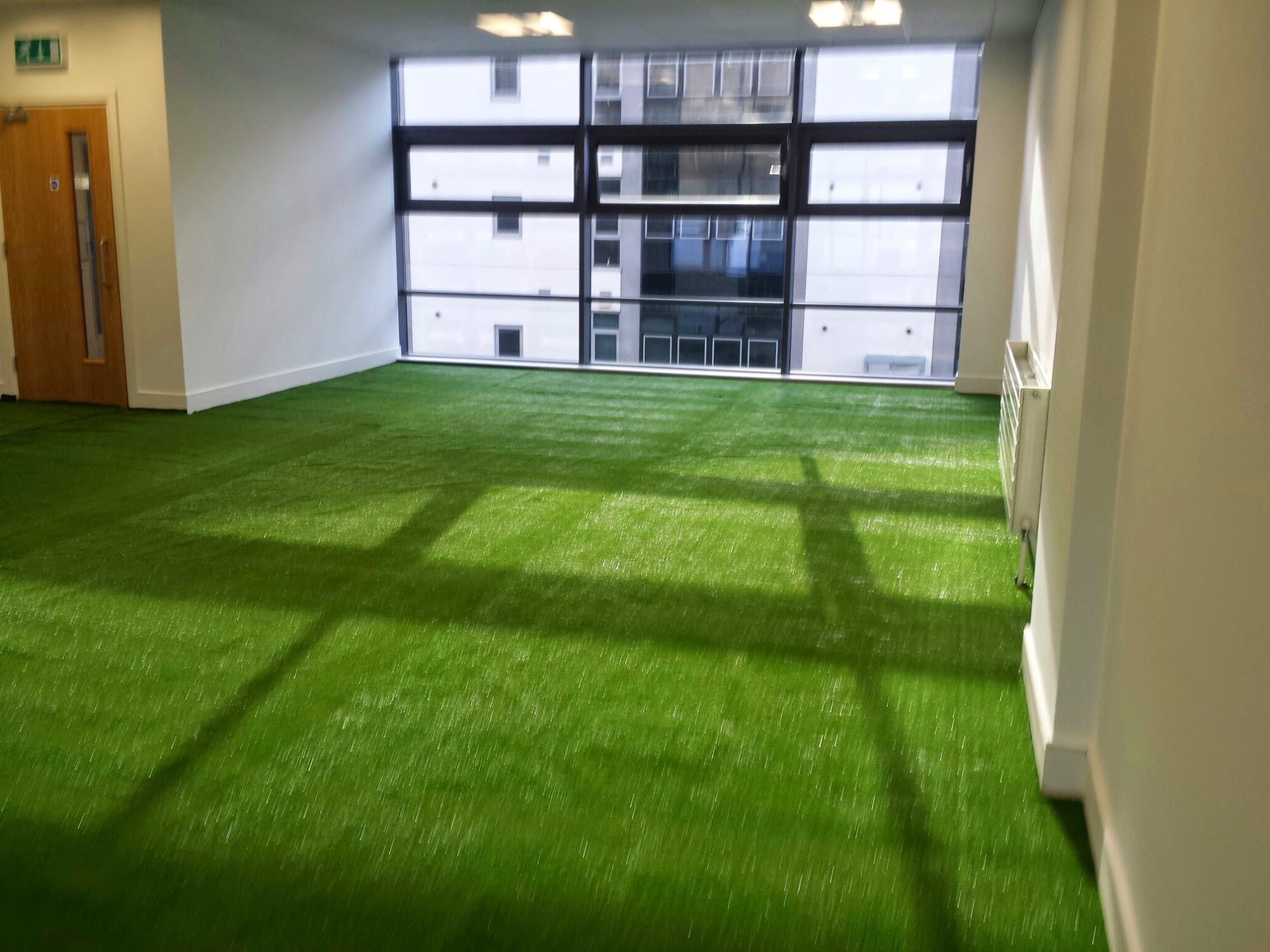 synthetic grass at conference