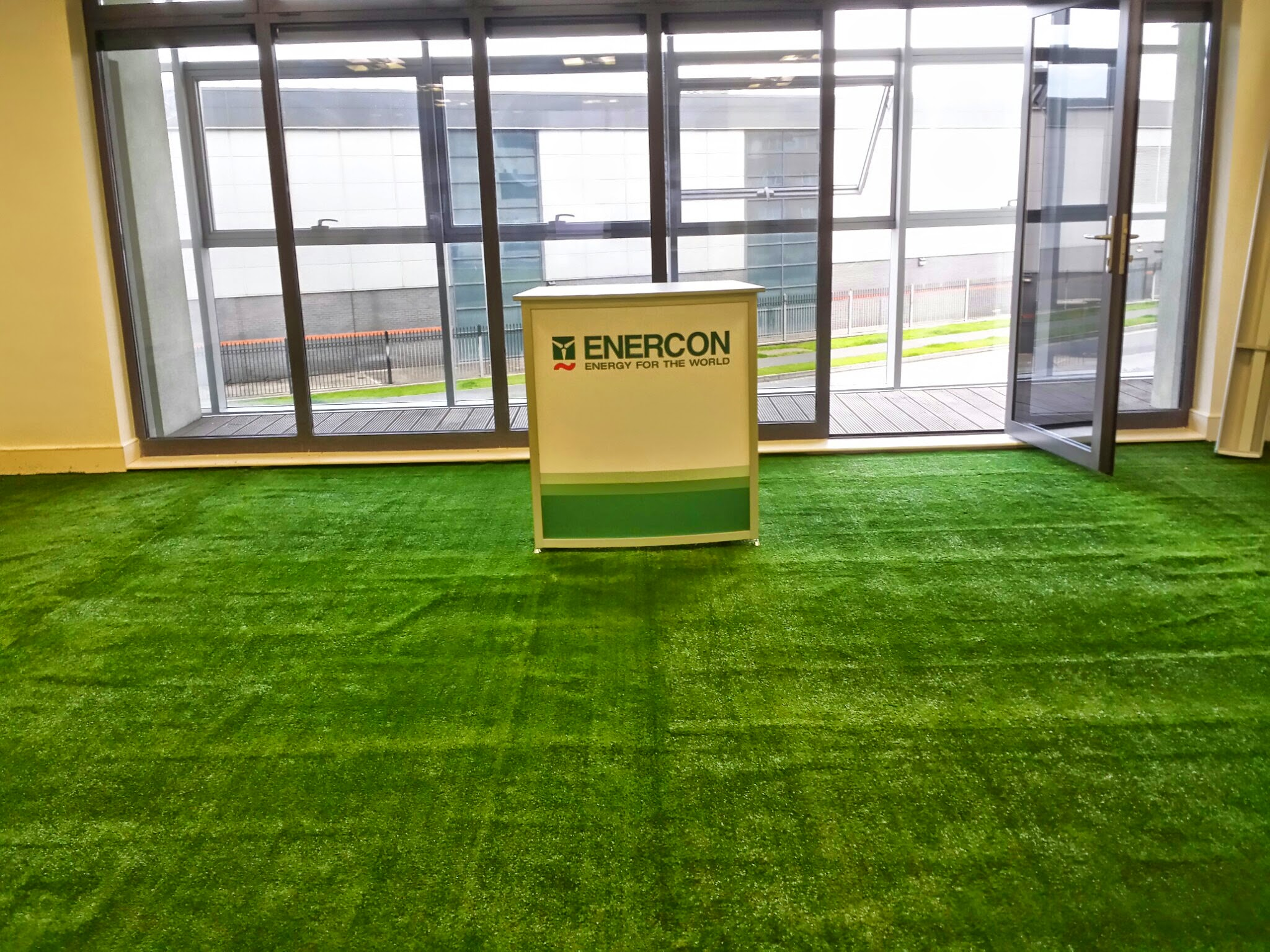 conference room with grass