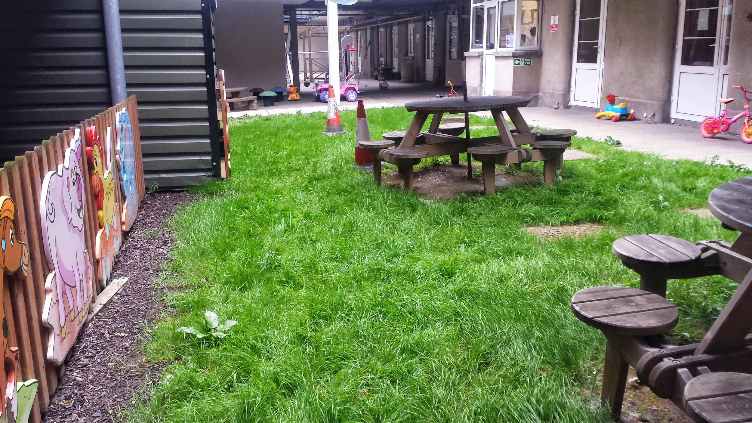 old play area for Crumlin