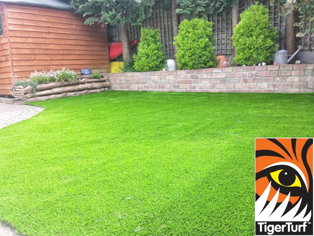 TigerTurf Lawn suburban garden