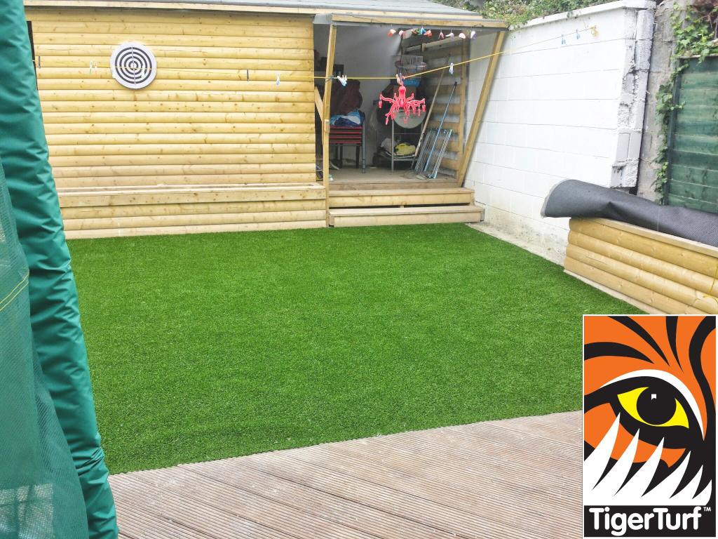 deck and TigerTurf
