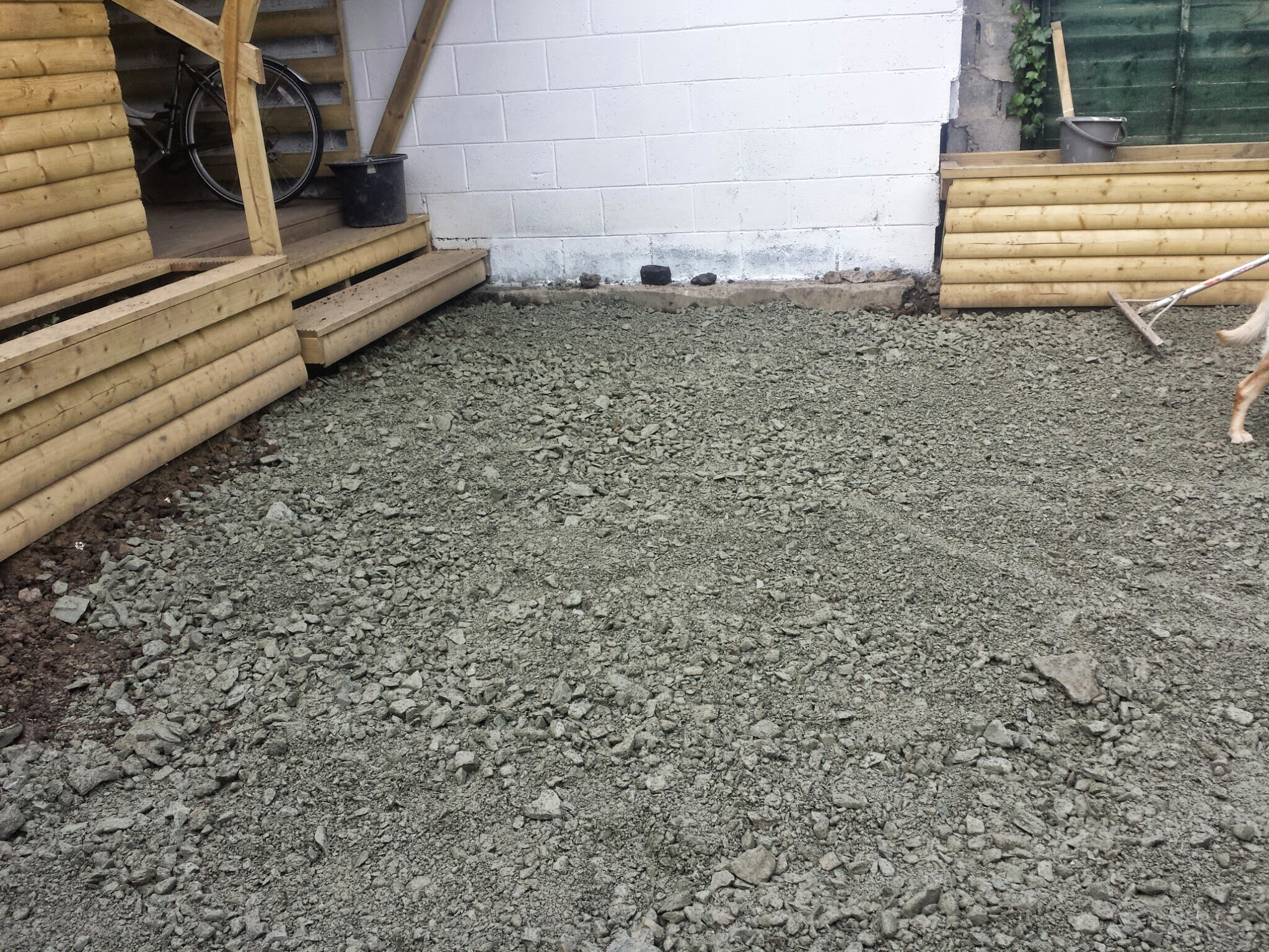 Hardcore Limestone base