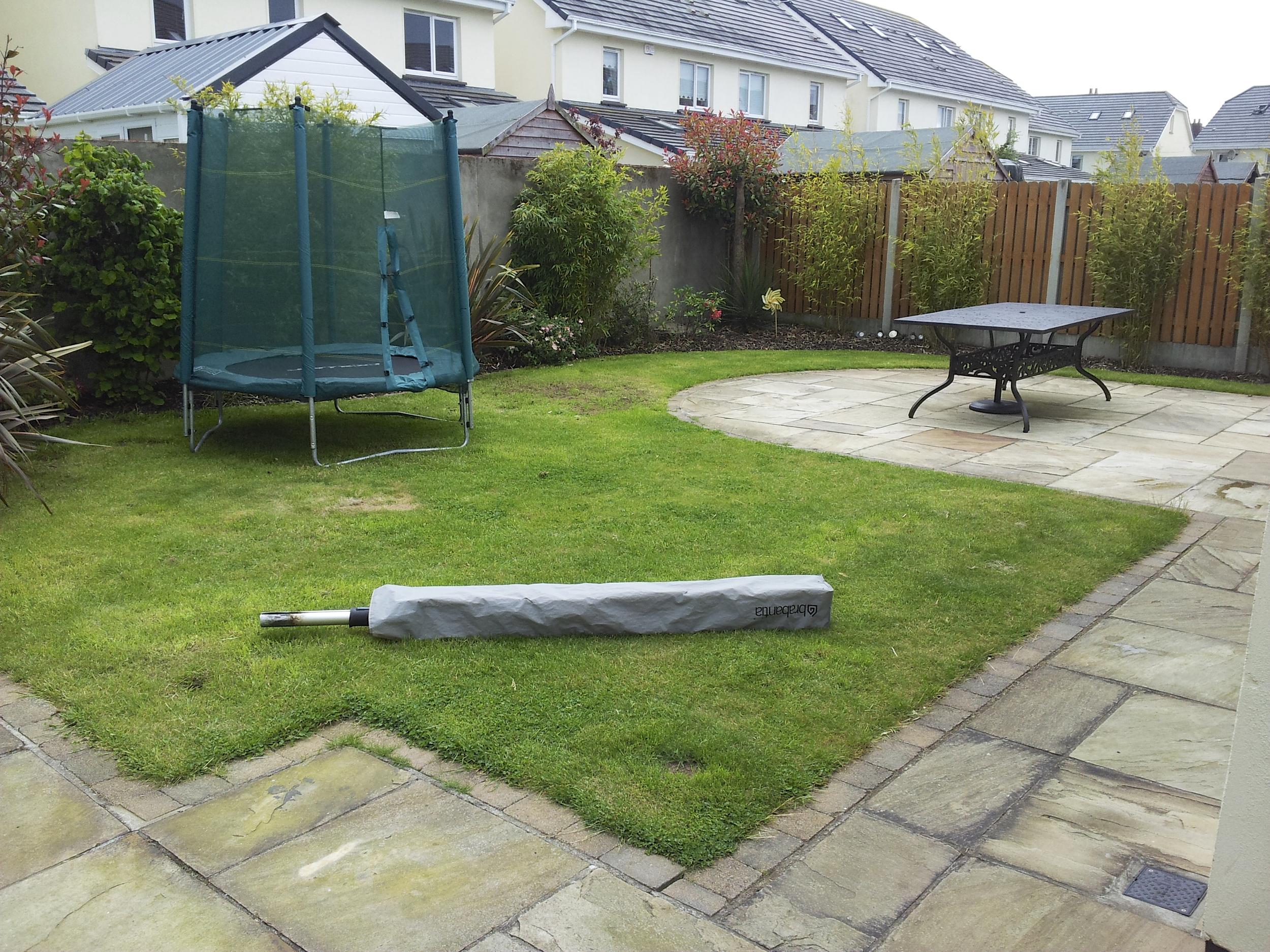 A garden before lawn installation dublin ireland.jpg