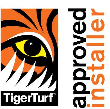TigerTurf Approved Installer logo