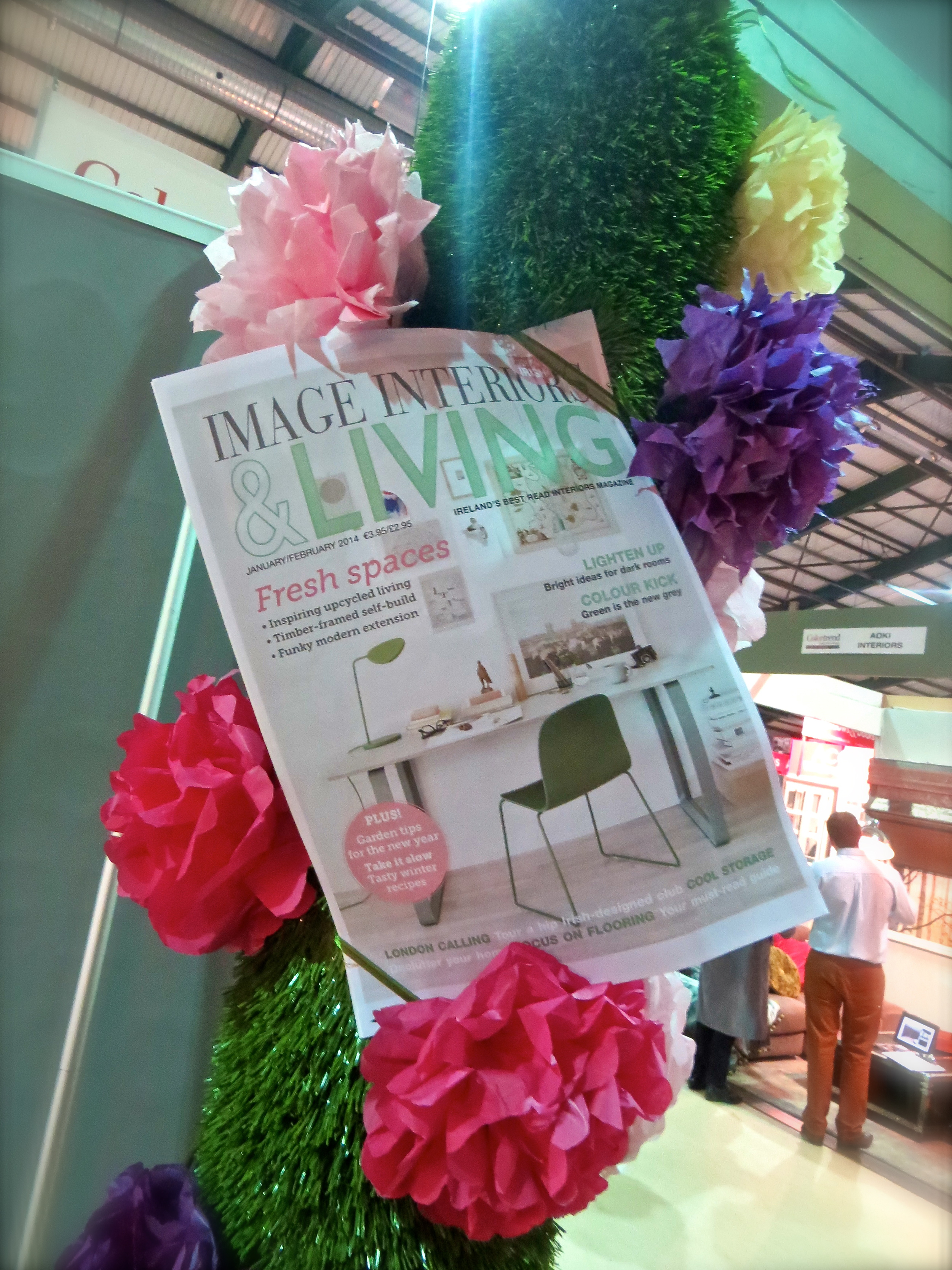 synthetic grass at interiors show