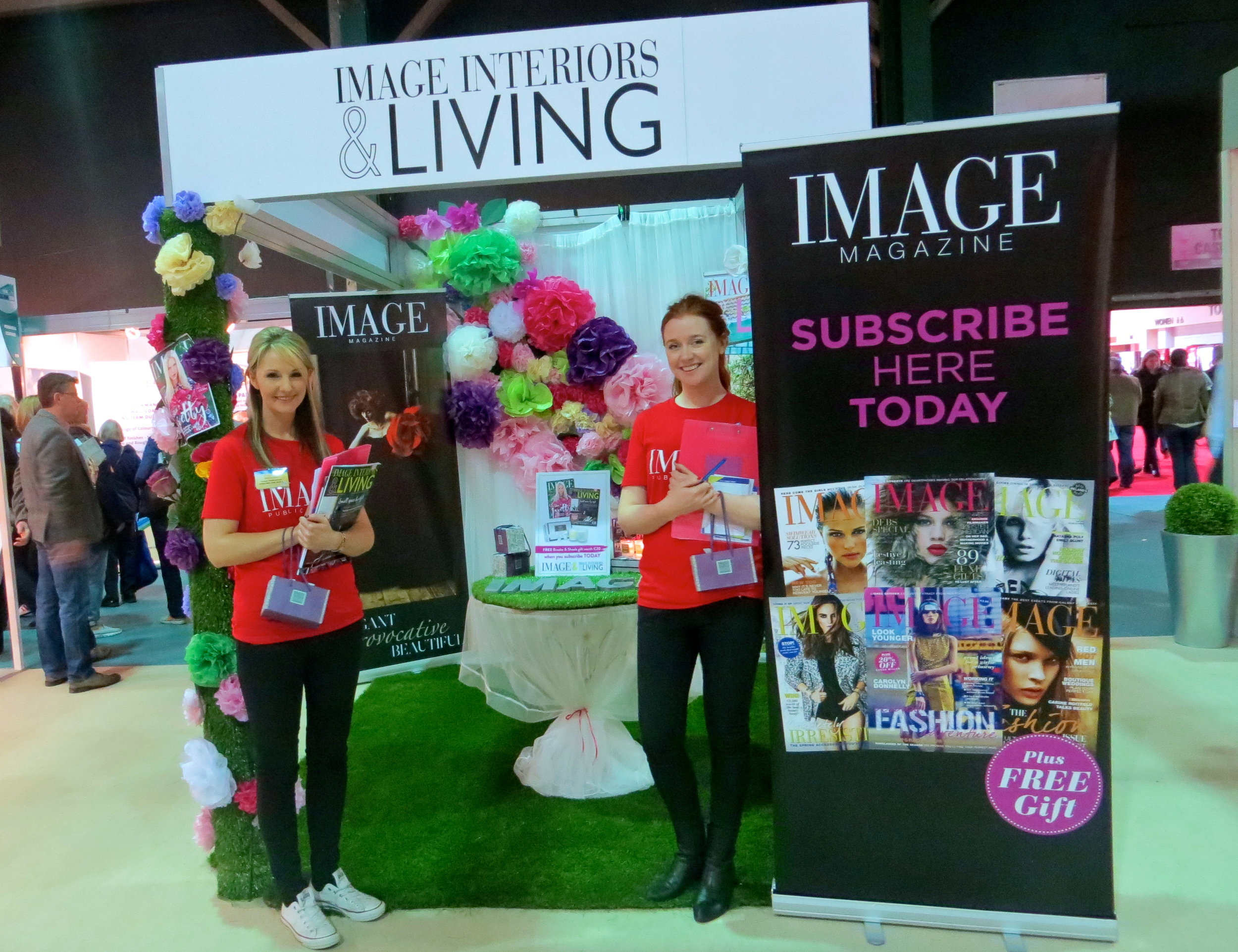 Image Interiors and Living stand