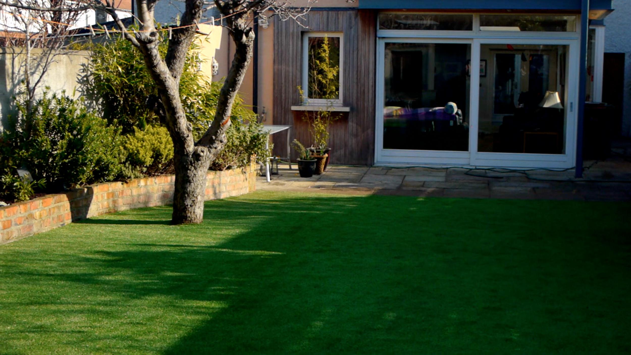 TigerTurf artificial grass lawn