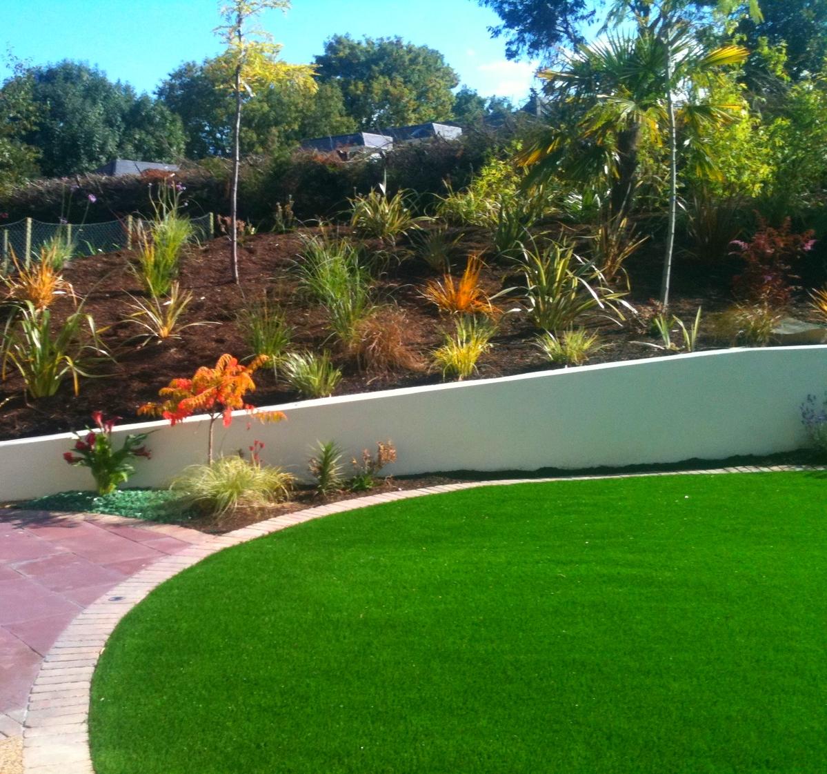 TigerTurf Lawn installed in Kildare Garden