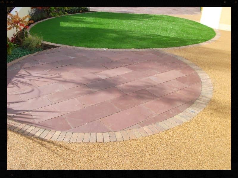 TigerTurf in circular landscape design