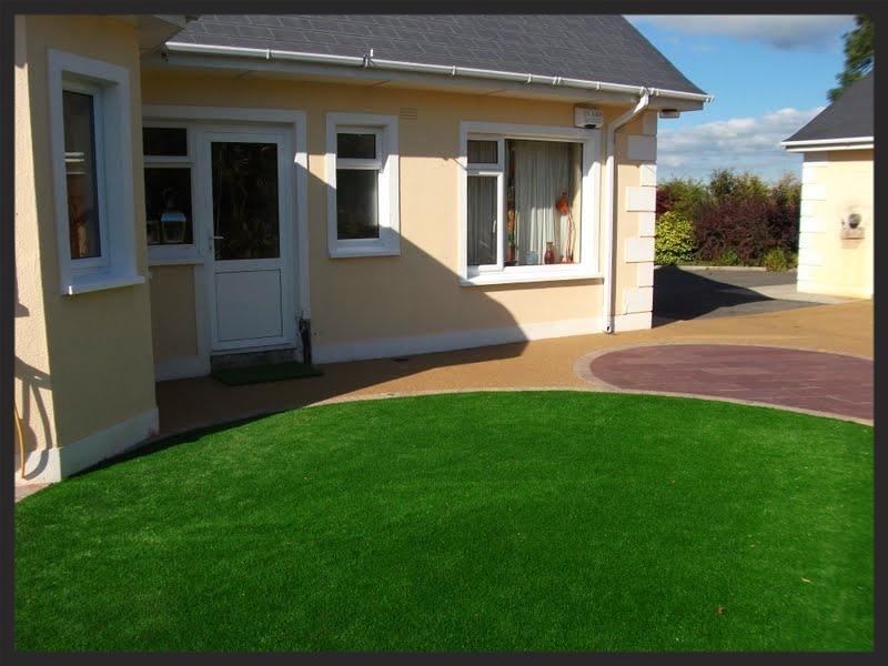Garden Design with TigerTurf Vision centrepiece
