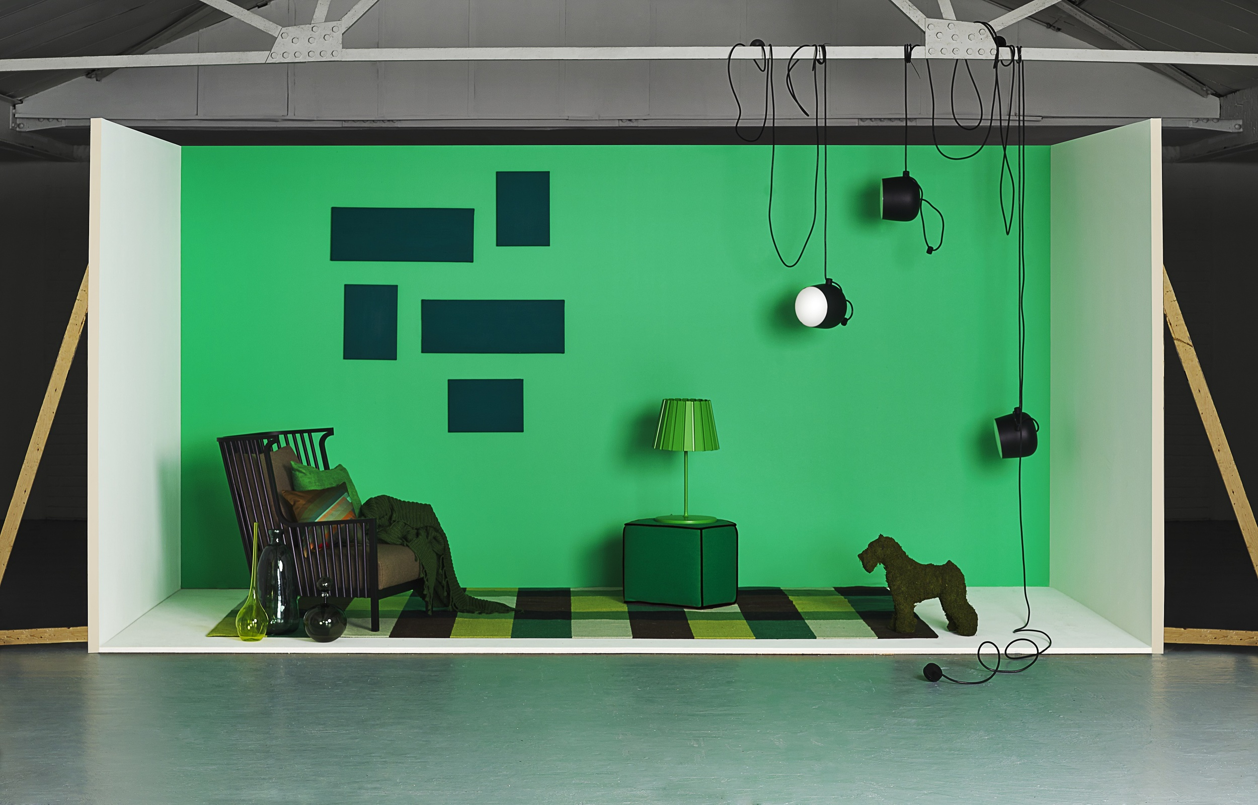 Colour Block: Green