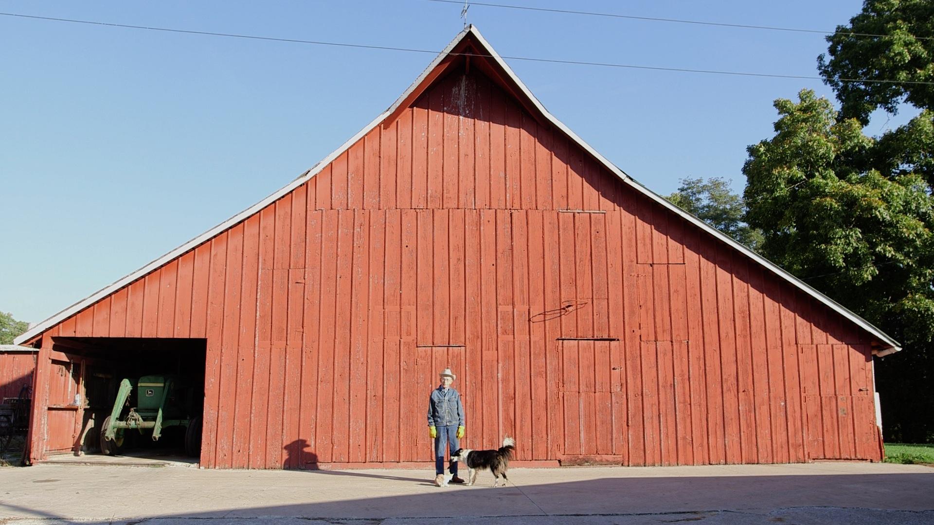 Walter in front of barn.jpg