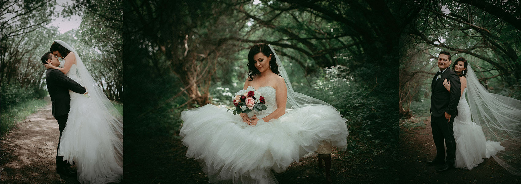 Real wedding day photo galleries. All taken the same day of the wedding.
