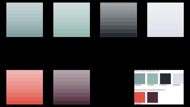 UI color scheme