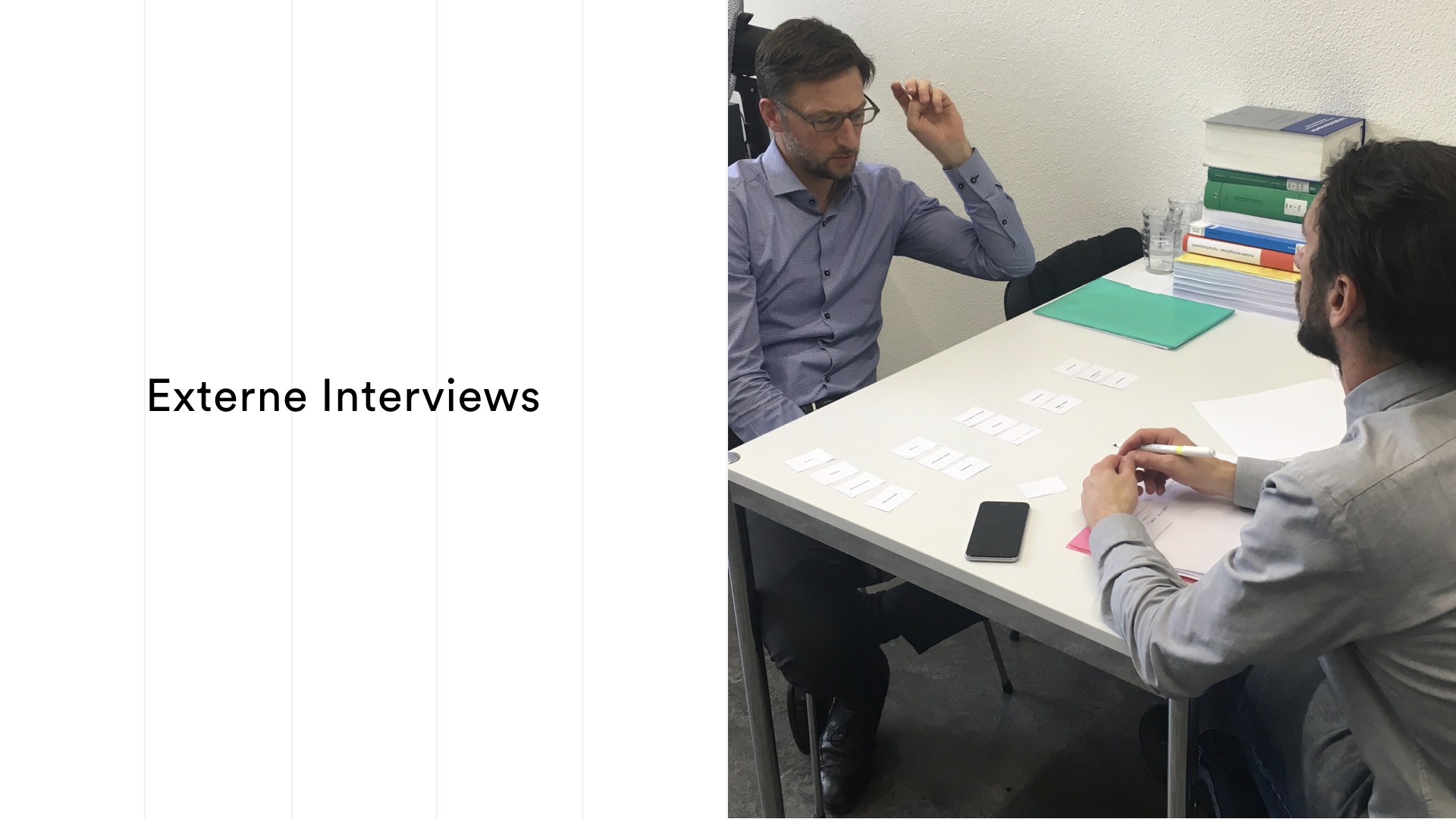 Outtake stakeholder interview