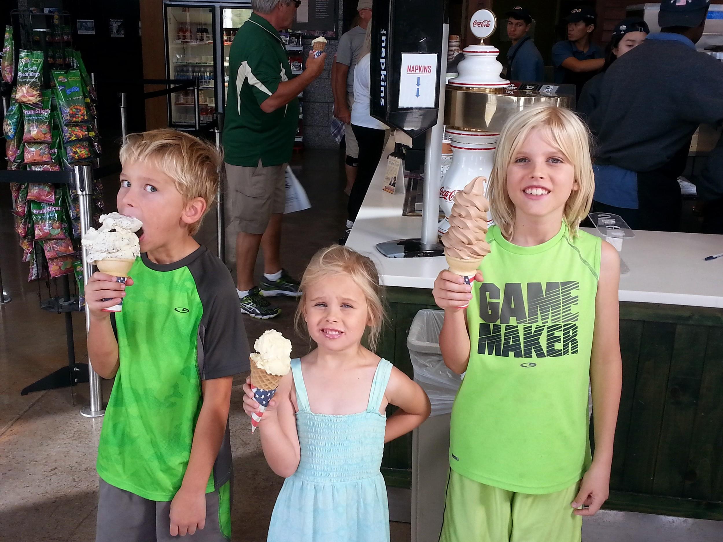 """The Ice Cream place"": aka Mount Rushmore National Memorial."