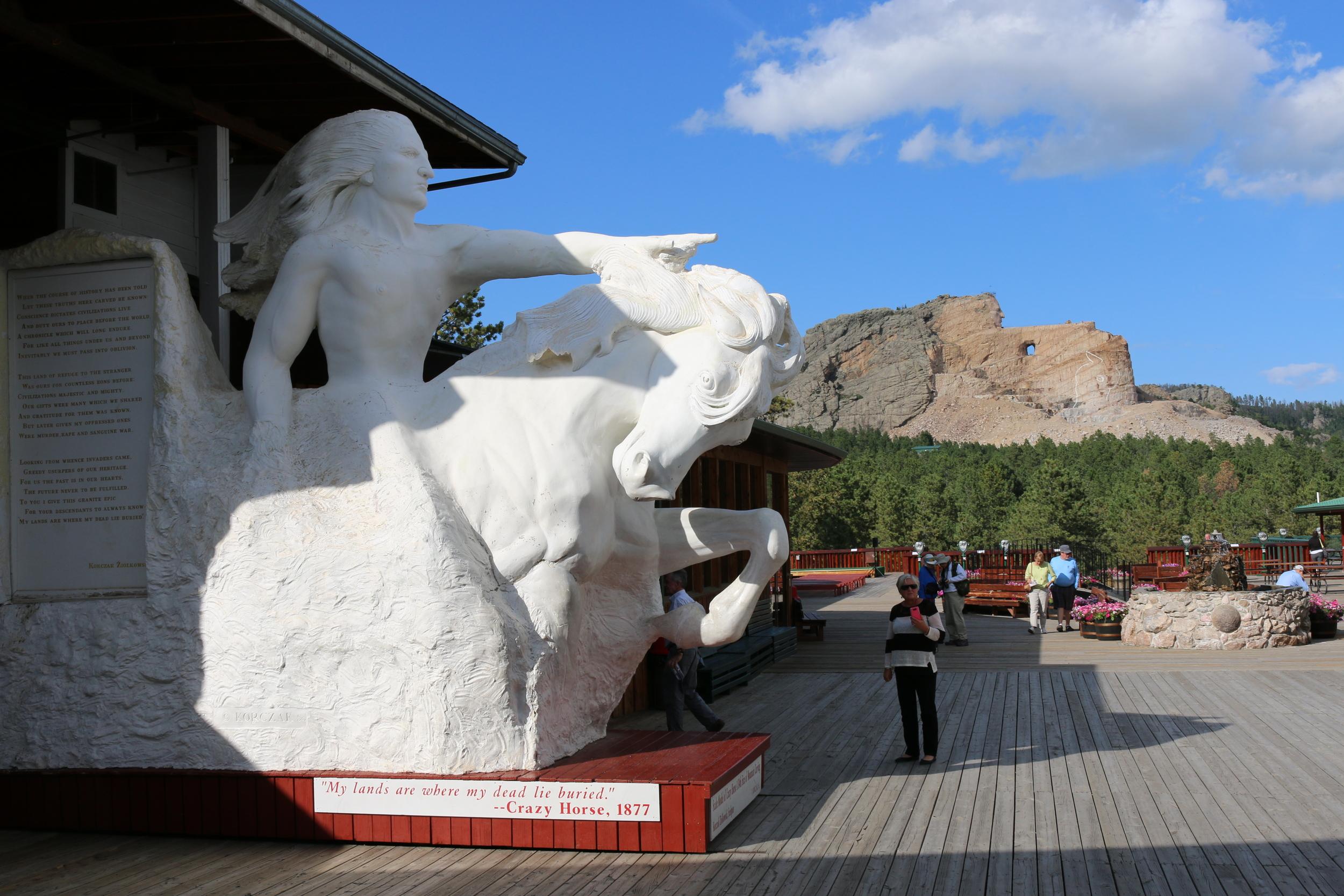 Crazy Horse Memorial, Black Hills, SD.