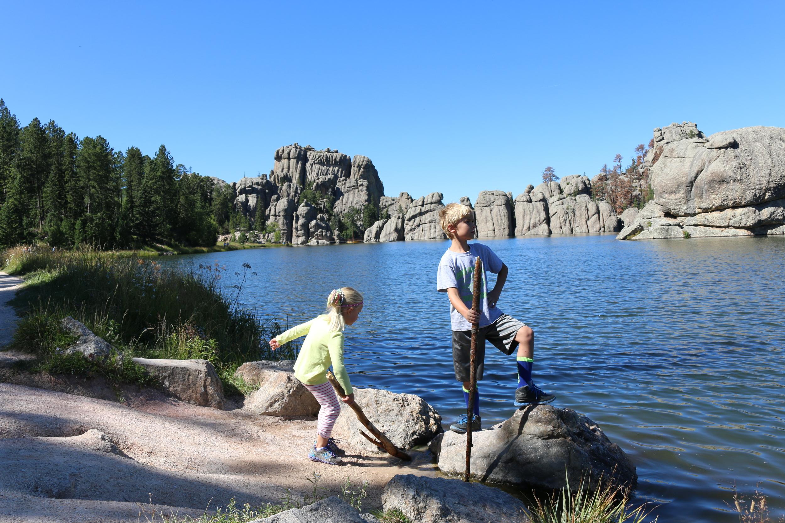 Sylvan Lake, Custer SP, SD.