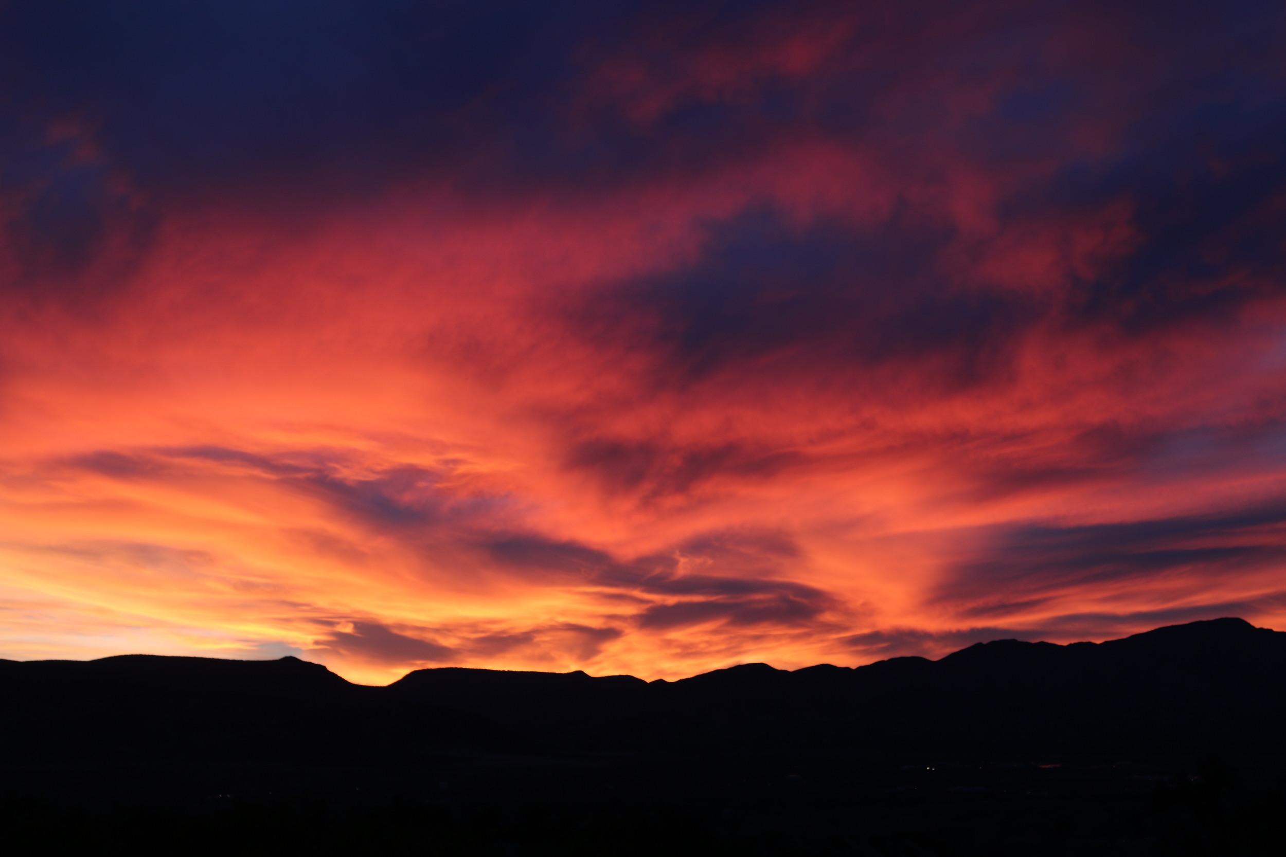 Camp Verde sunset.