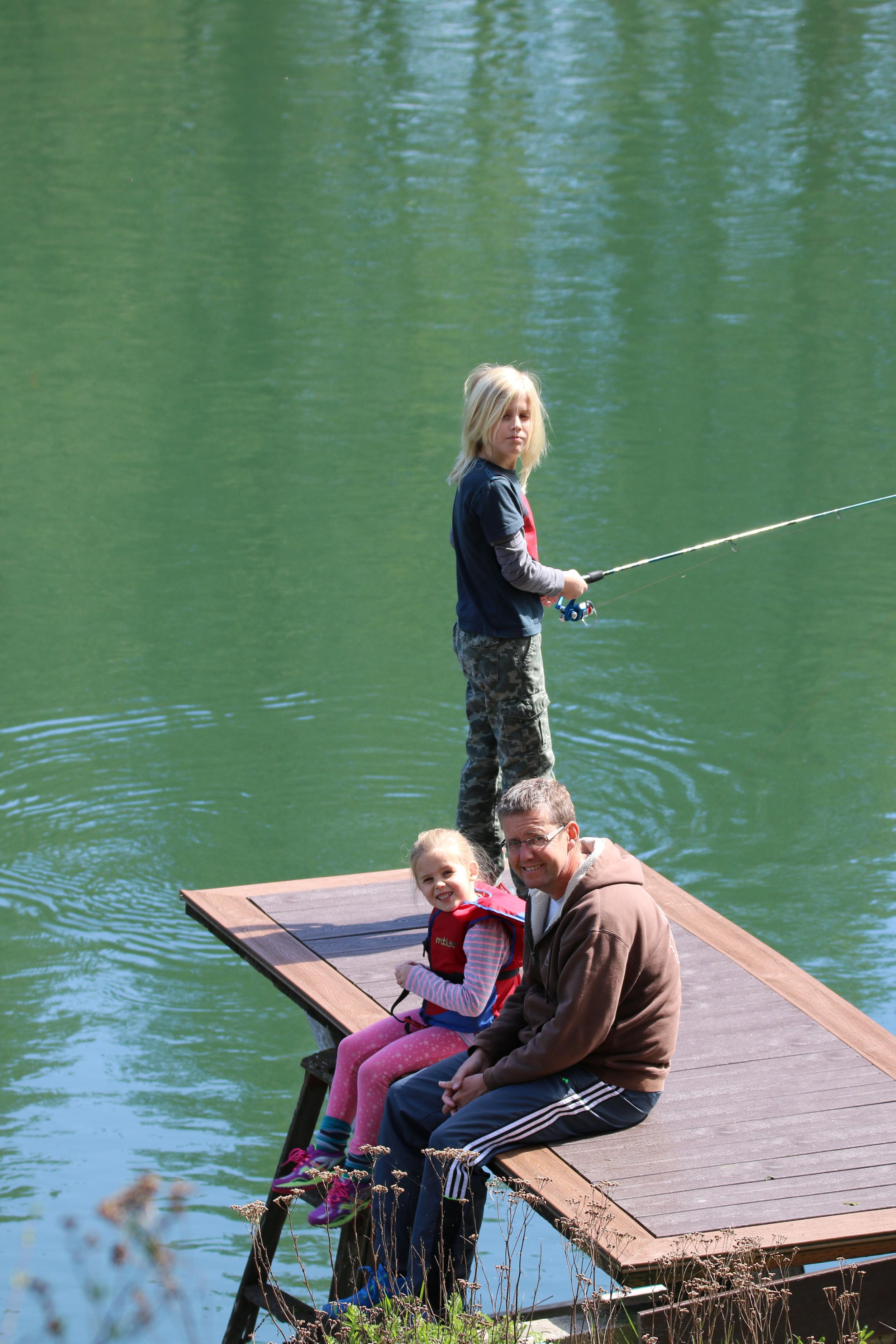 Nine Mile Falls: fishing