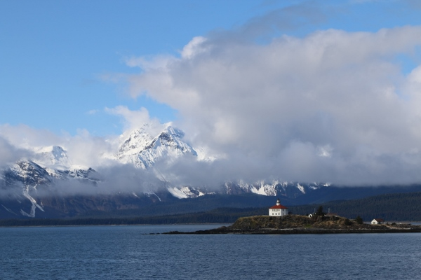 From the ferry in the Lynn Canal - which is not actually a canal, but an inlet.