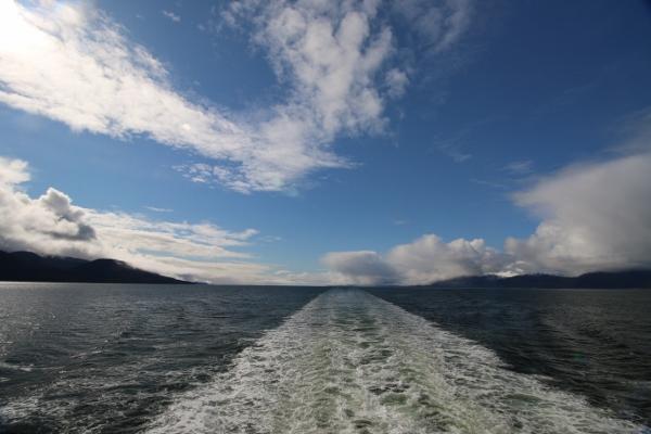 So long Juneau. Hello sunshine.