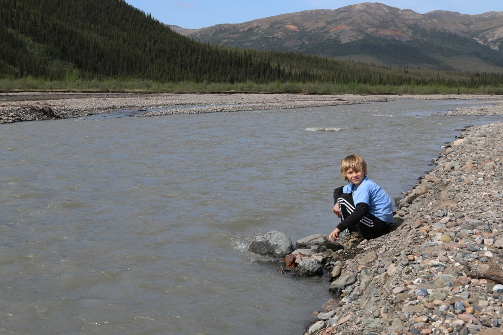 Dylan's ambitious river crossing