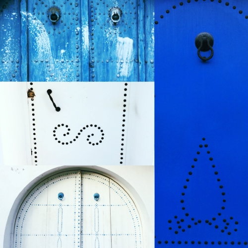 ~New home, new gorgeous doors from my new hood in Tunis~