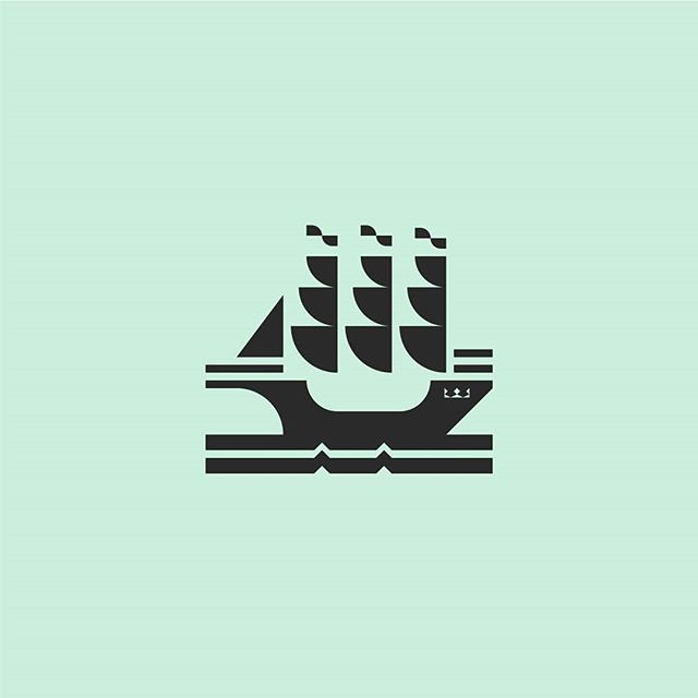 Here's a ship! . . . #logodesignerlondon #logodesigner #logoinspirations #design #logostandard #ship #boat #sailing #marines #logoexcellent #inspofinds #logotype #freelancedesigner #logoawesome #thedesigntalks #logoprocess #logoplace #logonew #womeninbusiness #minimalism #dribbble #behance #illustration #branding #theptdesign