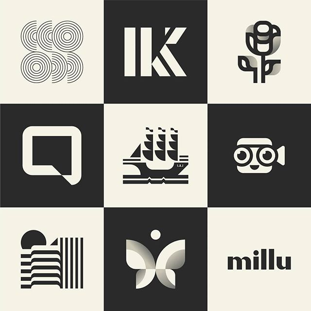 I have just uploaded a selection of some of my favourite logomarks on Behance. Here's half of those!  I would much appreciate any love you can give to the project! Link in bio. 😃 . . . #logostandard #logodesignerlondon #logodesigner #logomark #branding #icon #illustration #typography #type #design #logoinspirations #logoexcellent #logobloom #logohero #inspofinds #womeninbusiness #minimalidm #behance #logofolio #theptdesign