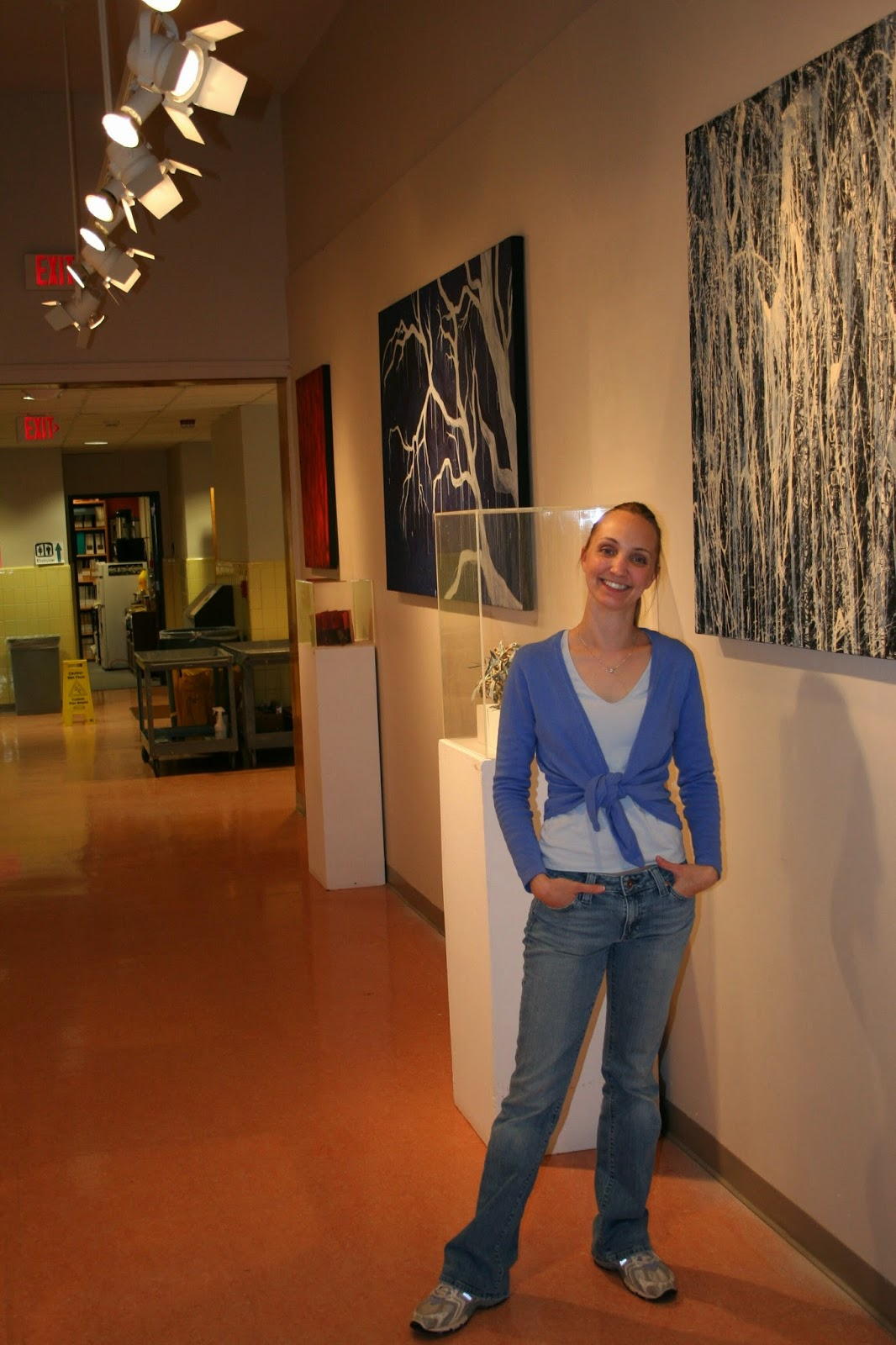 MaryLea at her Path is a Circle Exhibit 2006