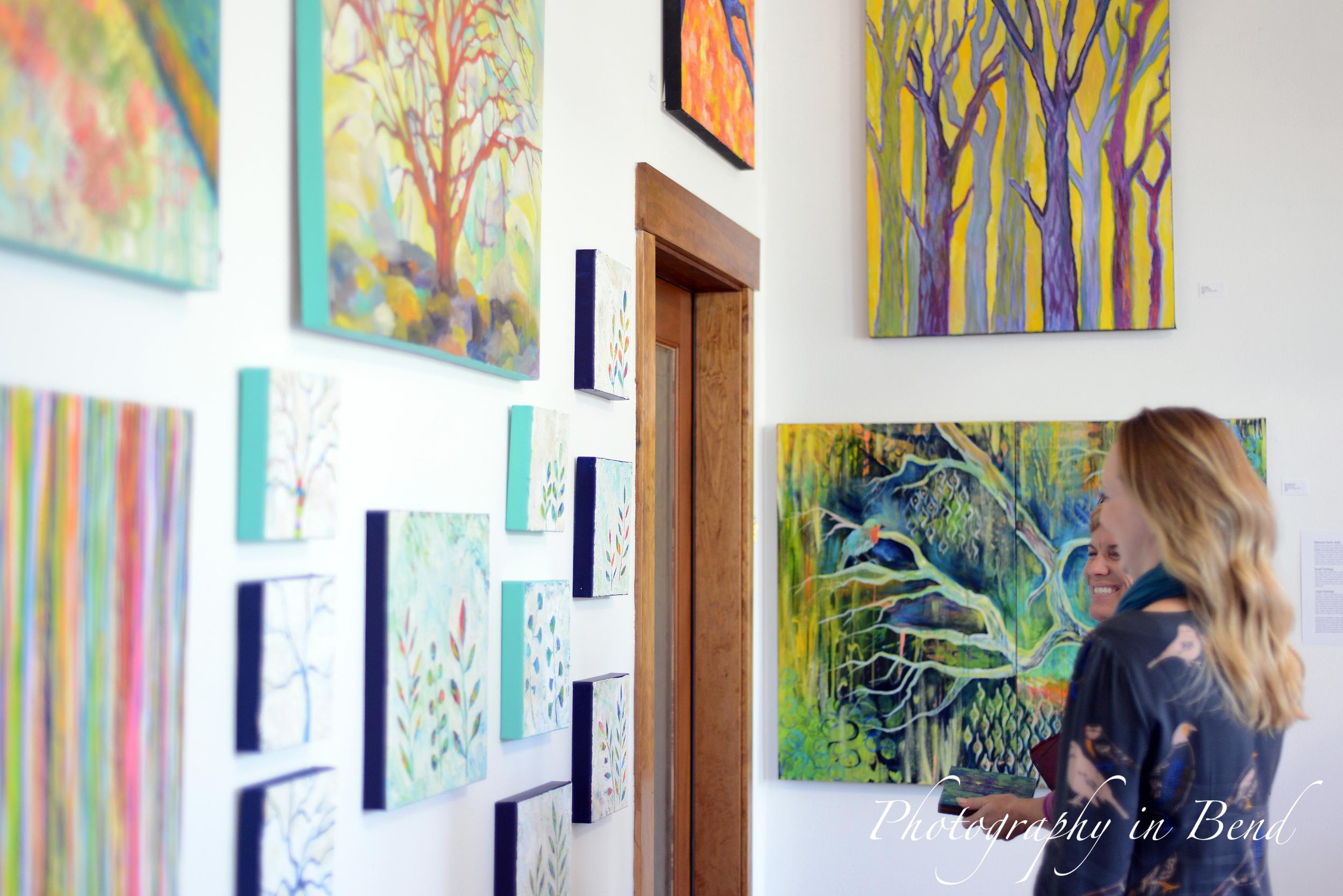 Treescapes exhibit MaryLea Harris Art