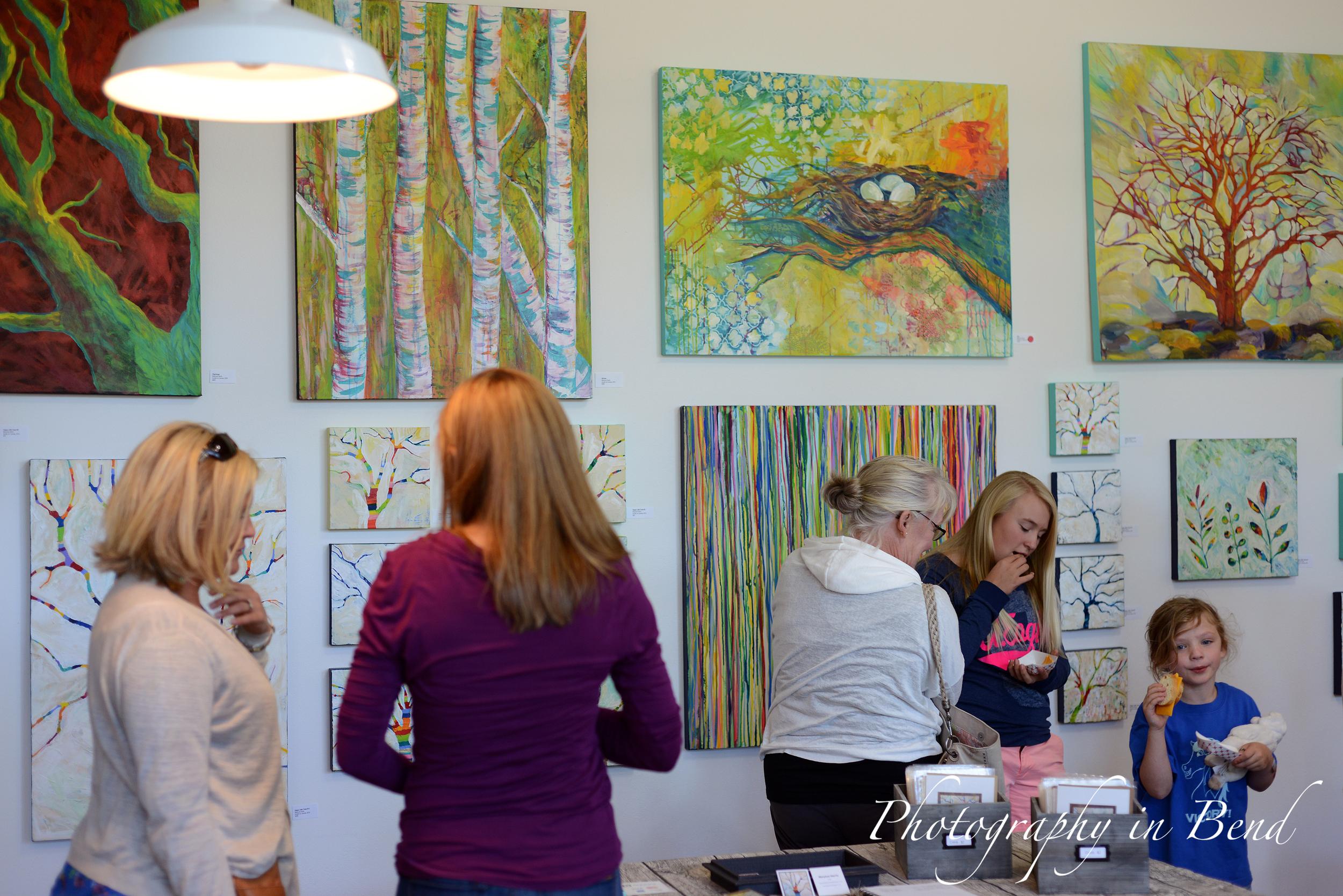 Treescapes 2 Exhibit MaryLea Harris Art