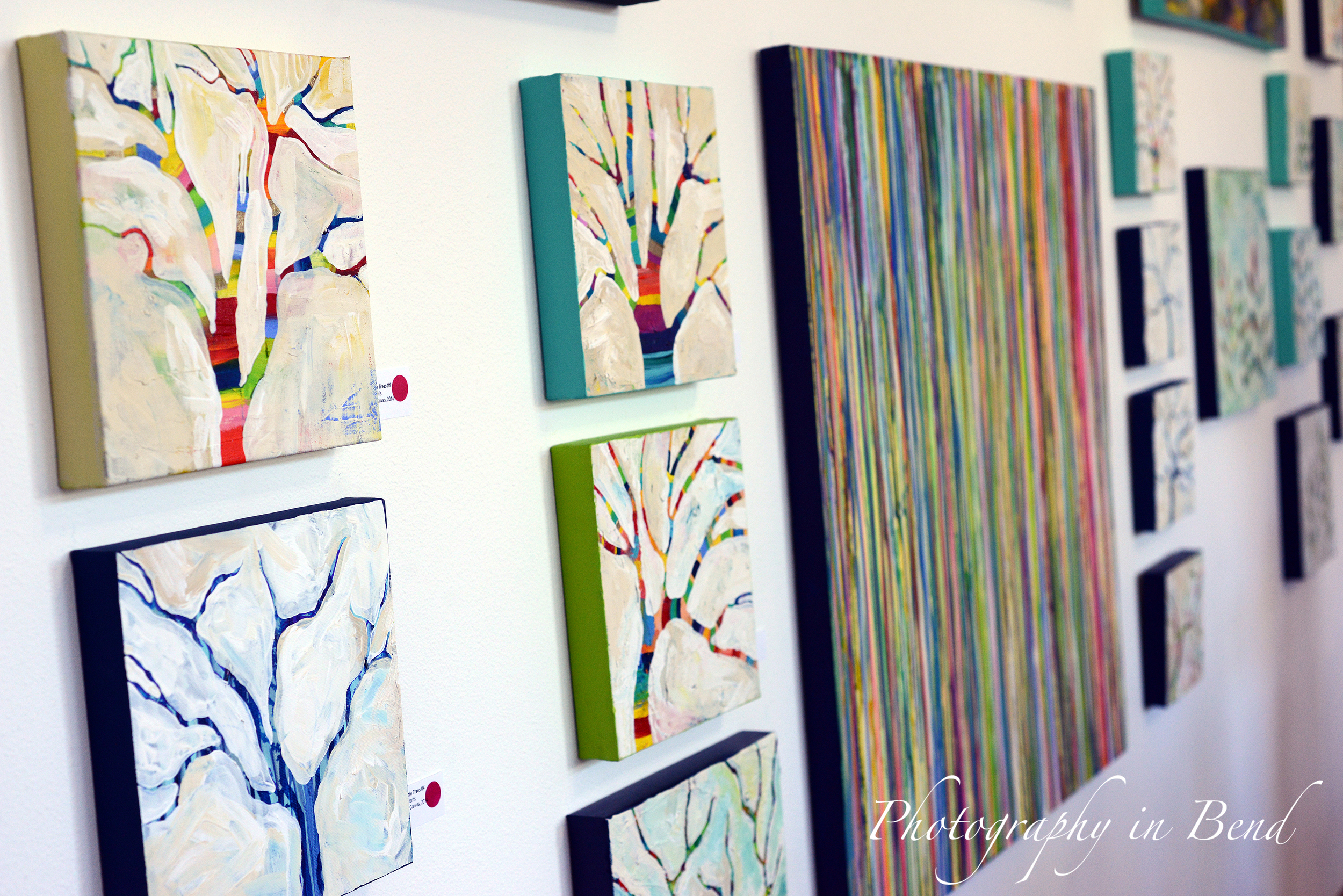 Happy Little Trees Series from MaryLea Harris Art
