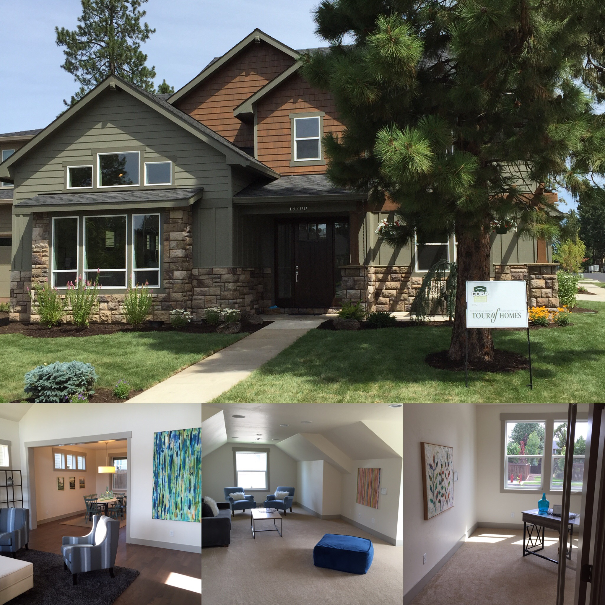 COBA '15 Simplicity Model Home in Aspen Rim Neighborhood in Bend, OR