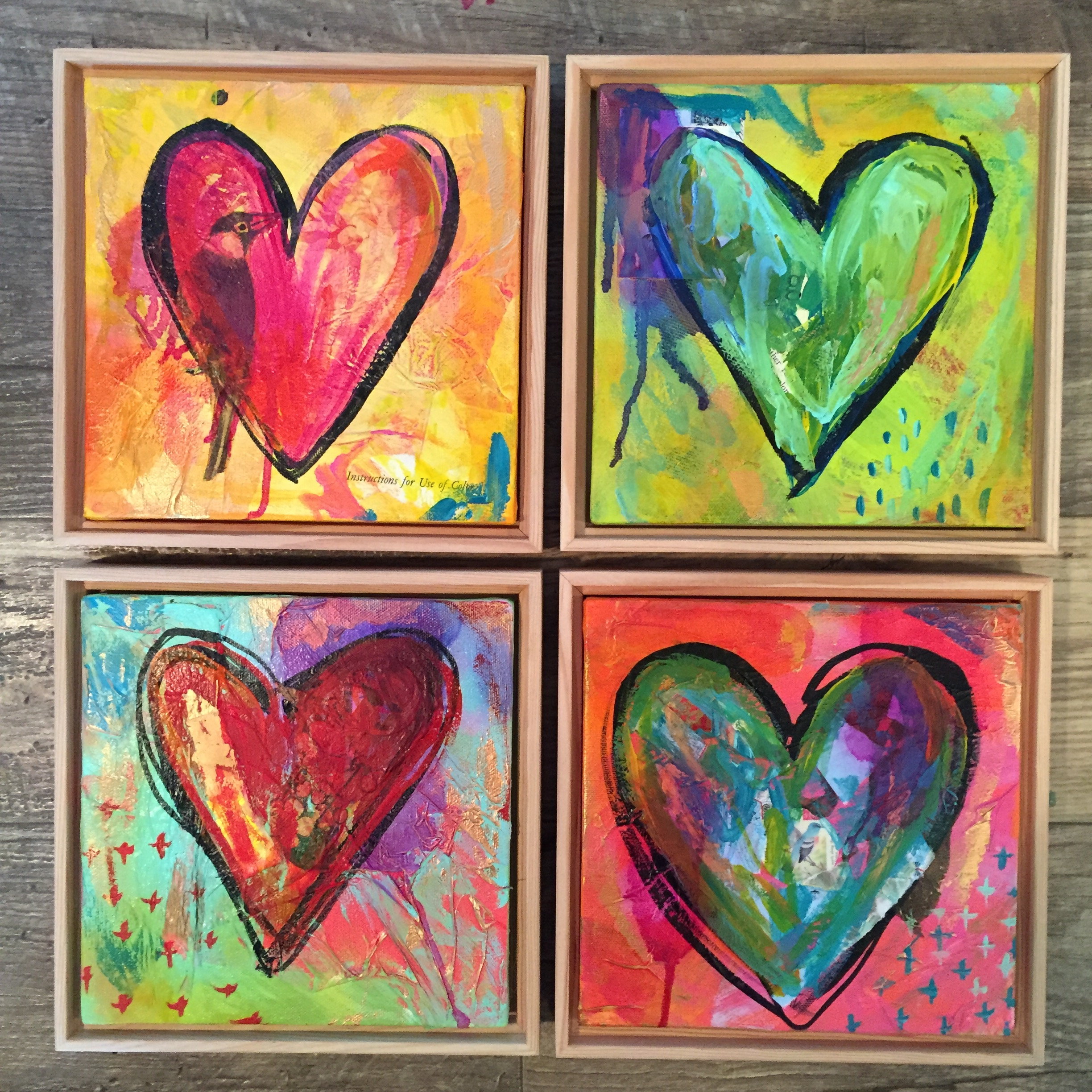 """Part of the """"Love Wins"""" series by MaryLea Harris, 2016."""