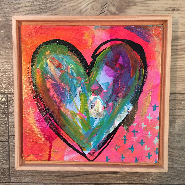 """Love Wins Series #3 - LOVE"" by MaryLea Harris, 2016."
