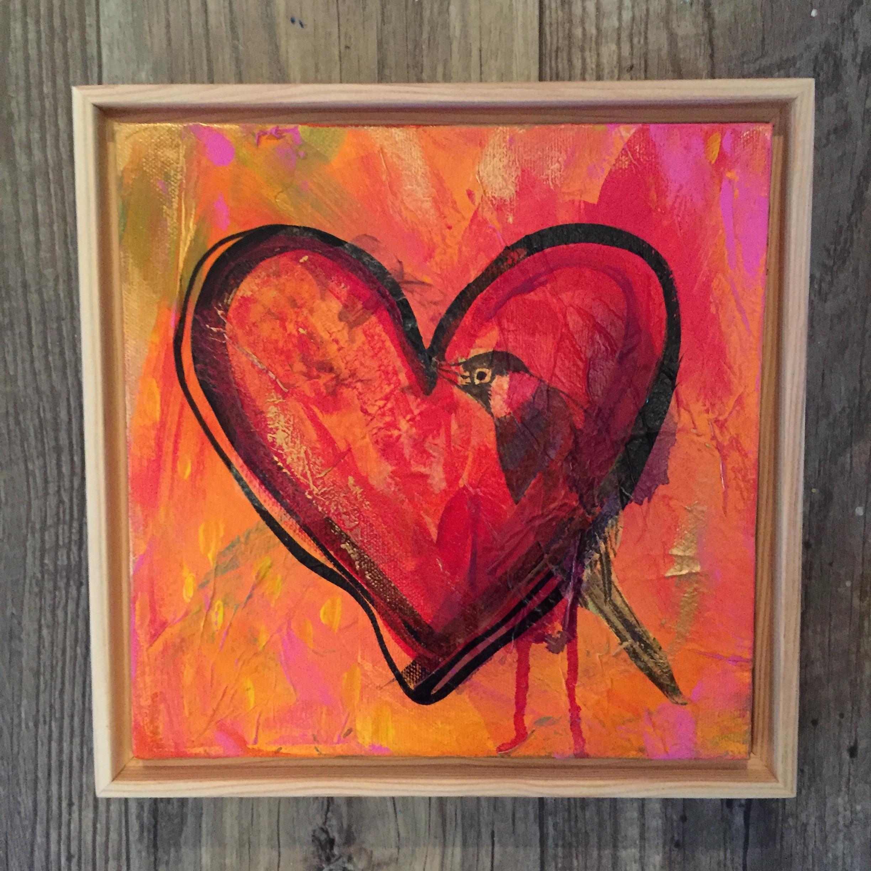 """Love Wins Series # 2 - Hope"" (2016) by MaryLea Harris 2016"